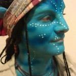 Desiree as Avatar character Grace Augustine