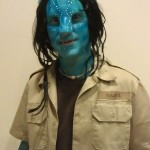 Brian as Avatar character Jake Sully