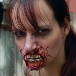 Ripped Zombie Mouth, prosthetic