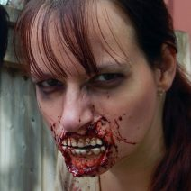 Gruesome Zombie Mouth SFX Makeup Prosthetic