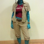 Desiree as Avatar character Grace Augustine, Wide shot