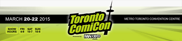 ComiCon Toronto confirmed!