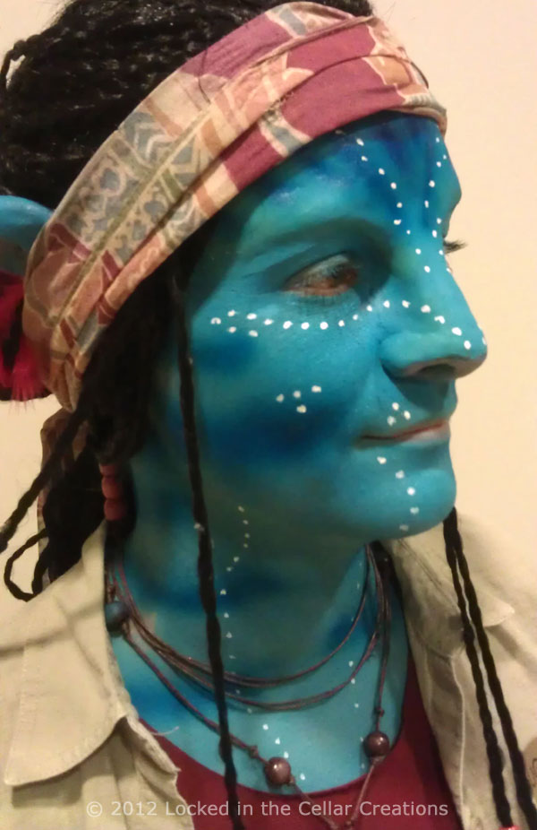 Avatar SFX Makeup Grace Augustine