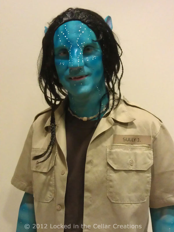 Avatar SFX Makeup Jake Sully