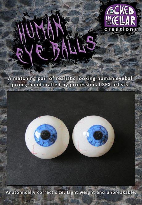 Realistic Human Eyeball Props Packaging
