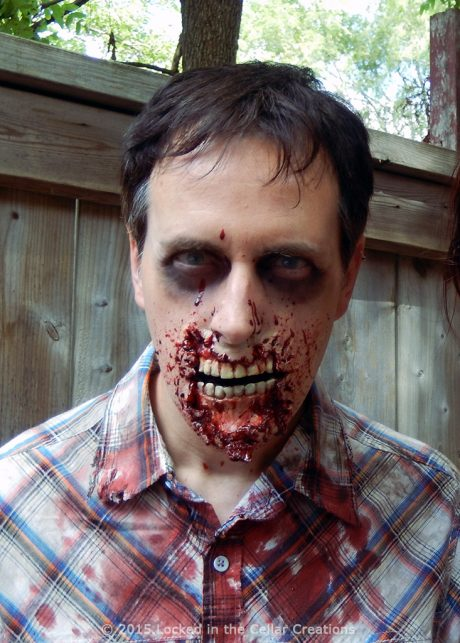 Rotten Zombie Mouth Teeth Prosthetic