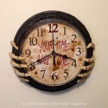 Your Time Will Come Clock (front view)