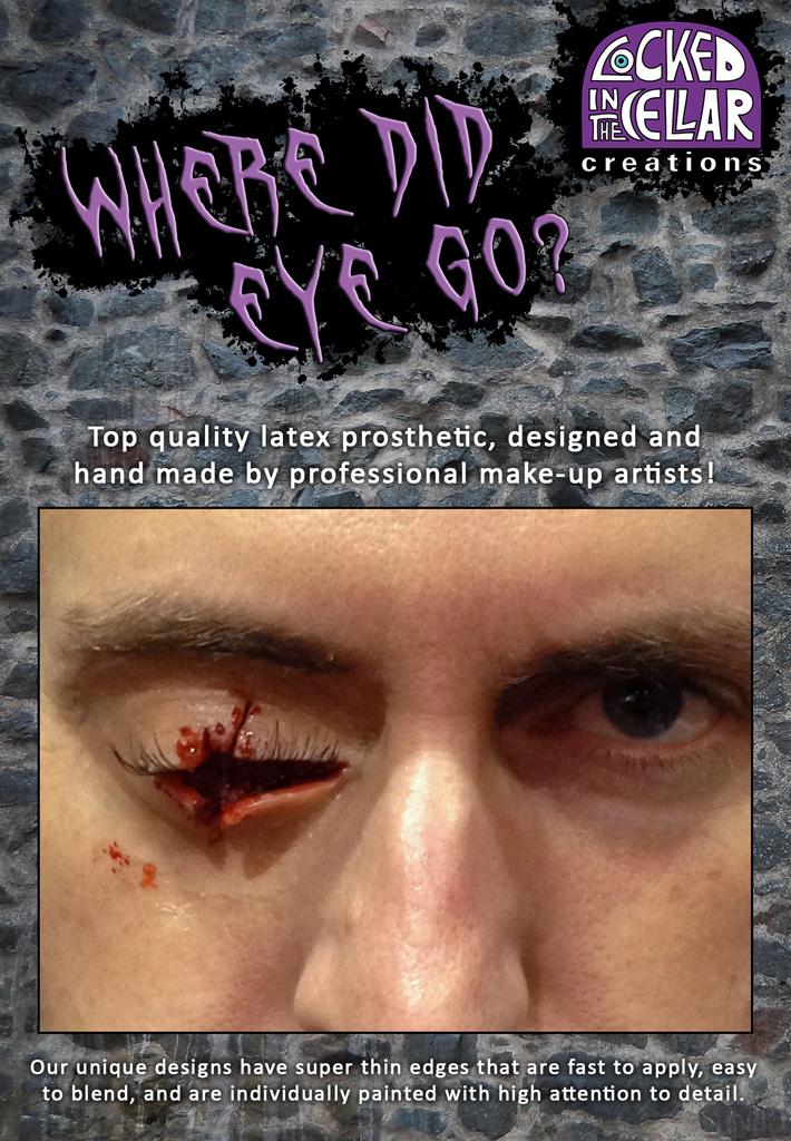 Missing Eye Prosthetic