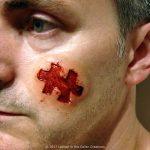 Jigsaw Prosthetic SFX Horror Makeup for Halloween
