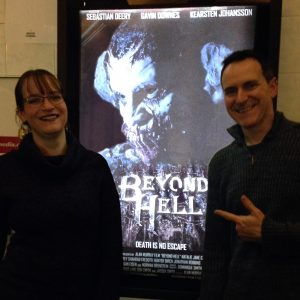 The promo poster of Beyond Hell