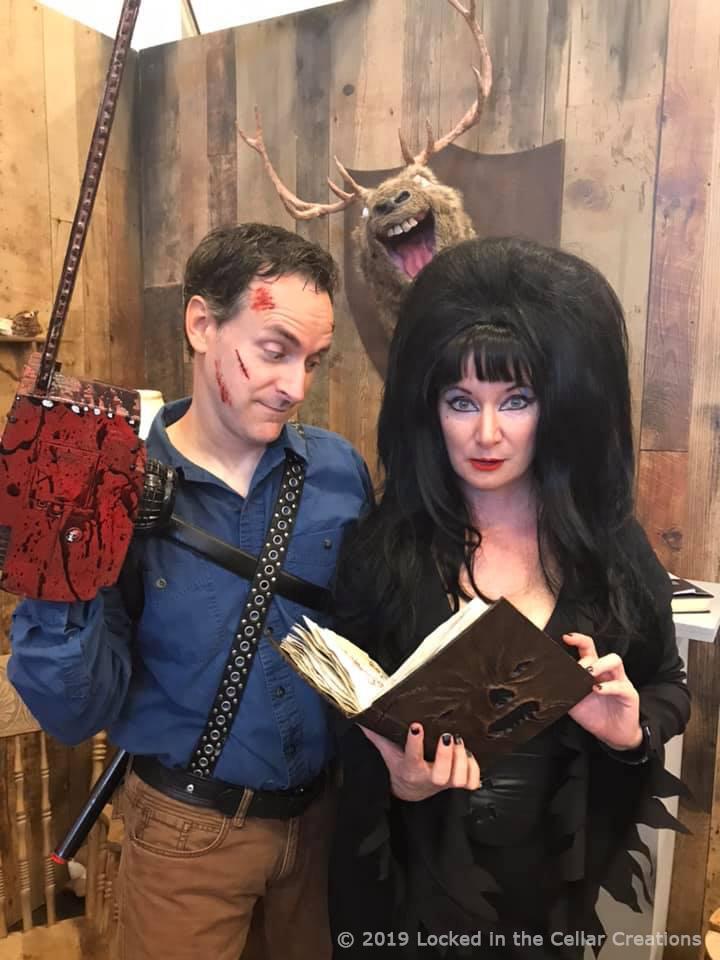 Ash and Elvira