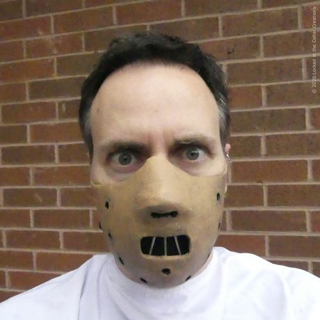 This Hannibal Lecter Face Mask is great for every day and for cosplay!